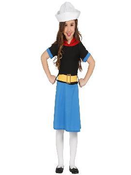 disfraz de marinera olivia niña