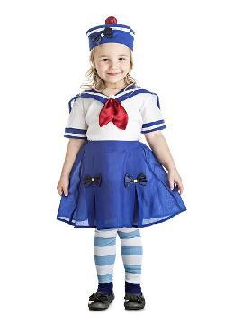 disfraz de marinera para niña