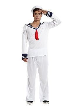 Es ideal para tus fiestas tematicas o para buscar a tu marinera sexy en tus despedidas de soltero. Este disfraz es ideal para tus fiestas temáticas de disfraces de uniforme de trabajo,disfraces de marineros y del mar para grupos, parejas o familias.