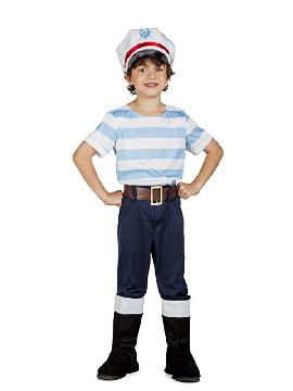 disfraz de marinero lobo de mar niño
