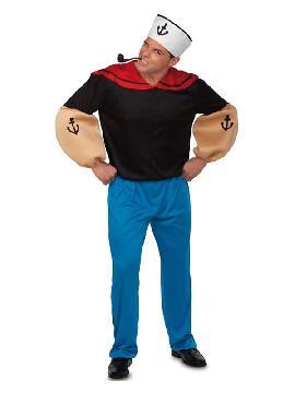 disfraz de marinero popeye para hombre