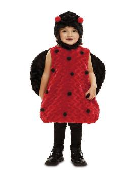 disfraz de mariquita peluche para niña
