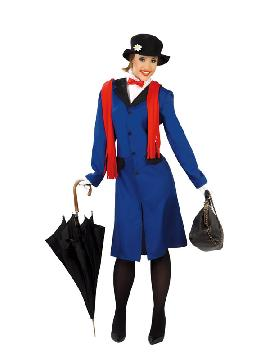 disfraz de mary poppins mujer