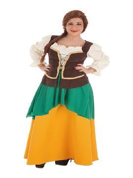 disfraz de masera medieval para mujer