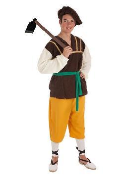 disfraz de masero medieval para hombre