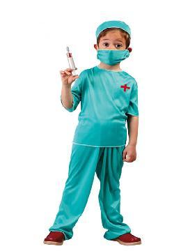 disfraz de medico cirujano niño