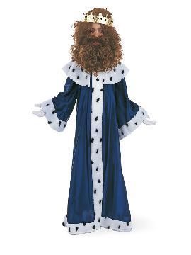 disfraz de melchor con corona niño