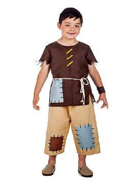 disfraz de mendigo medieval niño