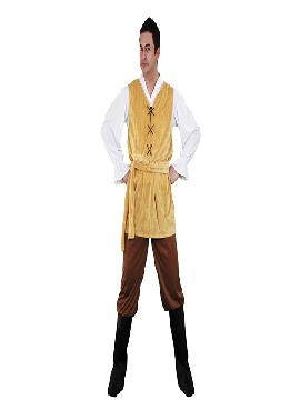 disfraz de mesonero medieval adulto