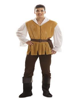 disfraz de mesonero medieval para hombre