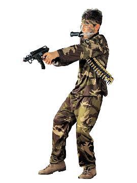 disfraz de militar fuerzas especiales niño