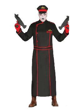 disfraz de militar gotico hombre