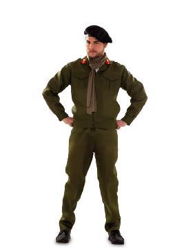 disfraz de militar montgomery para hombre
