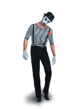 disfraz de mimo hombre