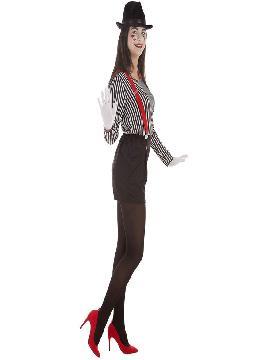 disfraz de mimo para mujer