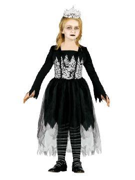 disfraz de miss gotica para niña