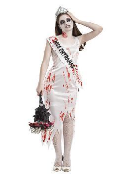 disfraz de miss zombie para mujer