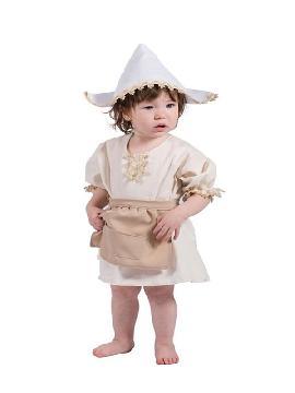 disfraz de molinera para bebe