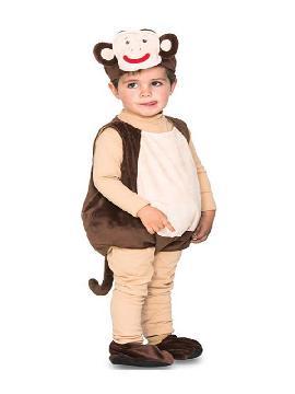 disfraz de monito feliz para bebe