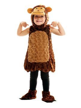 disfraz de monito peluche niño