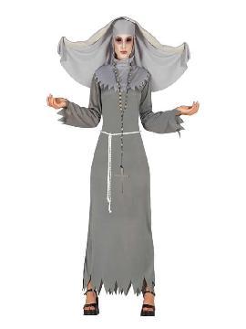 disfraz de monja diabolica para mujer