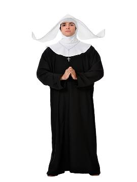 Disfraz de monja hombre. Te convertirás en toda una Monja Superior , pero en este caso un poco mas sexy. Serás la mas religiosa de todas las fiestas temáticas. Este disfraz es ideal para tus fiestas temáticas de disfraces de religiosos,curas,monjas y obispos para mujer adultos.