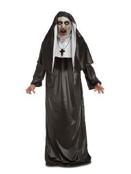 disfraz de monja terrorifica para mujer