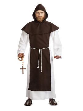 disfraz de monje franciscano hombre
