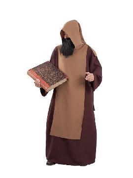 disfraz de monje medieval para hombre