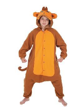 disfraz de mono divertido para niño