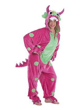 disfraz de monstruita con lunares para mujer