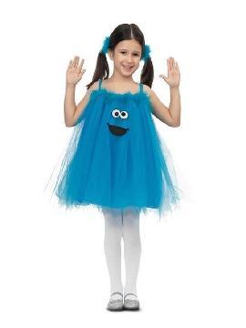 disfraz de monstruo de las galletas tutu niña