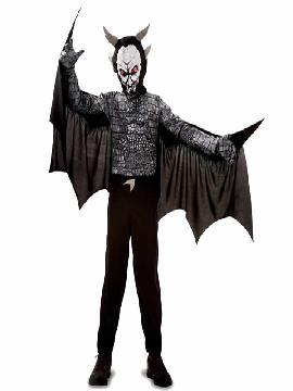 Disfraz de monstruo halloween para niño. Los pequeños lo pasarán de muerte asustando a los mayores en la noche de Terror y halloween. Este disfraz es ideal para tus fiestas temáticas de miedo y zombies para infantil.