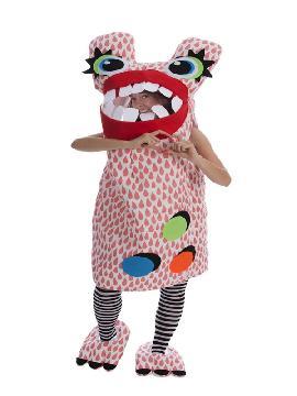 disfraz de monstruo loco rosa para mujer