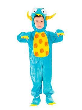disfraz de monstruo niño infantil