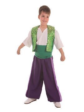 disfraz de moro aladuin para niño