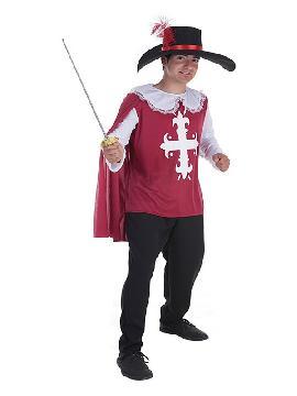 disfraz de mosquetero toledo para hombre