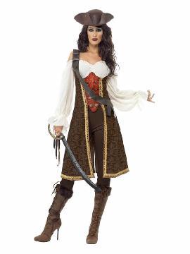 disfraz de moza pirata de alta mar mujer