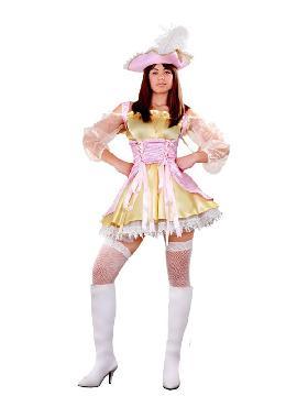 disfraz de moza pirata mujer