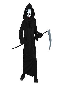 disfraz de muerte con toga para niño