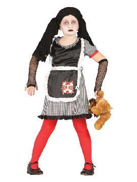 disfraz de muñeca diabolica para niña