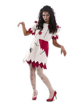disfraz de muñeca vudu para mujer