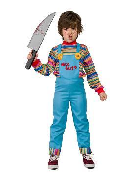 disfraz de muñeco chucky niño