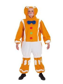 disfraz de muñeco galleta de jengibre para hombre