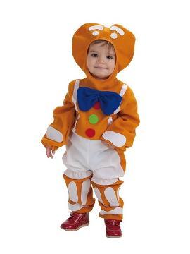 disfraz de muñeco galleta jengibre para bebe