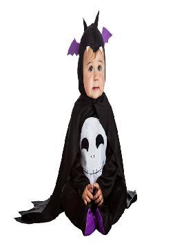 disfraz de murcielago bebe es muy cómodo para vestir a los diminutos de la casa, y que puedan hacer mil travesuras en las fiestas temáticas de las guarderías y en halloween. Es ideal para tus fiestas temáticas de disfraces de miedo y vampiros infantiles.