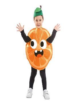 disfraz de naranja para infantil