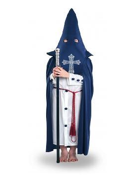 disfraz de nazareno para niño. Con este traje seras una autentico capuchino en semana santa y seguir con pasión a tu cristo y hacer una fiesta tematica en el cole. Este disfraz es ideal para tus fiestas temáticas y regionales infantiles