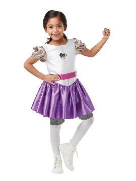 disfraz de nella caballero una princesa valiente para niña