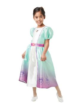 disfraz de nella una princesa valiente para niña